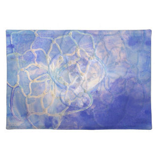 Placemats del lirio de agua manteles individuales