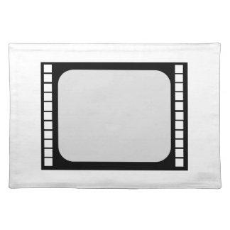 placemats film reel tv digital laurel