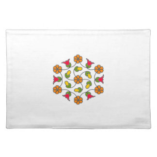 Placemats-Flower Series#63 Cloth Placemat