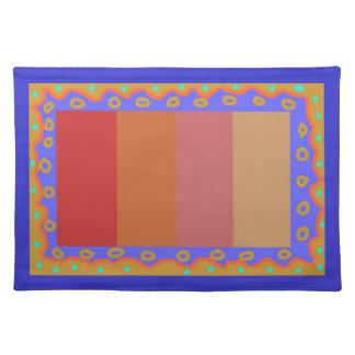 Placemats modelado Colourfull> geométrico Mantel Individual