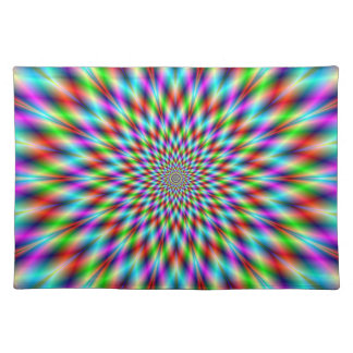 Placemats  Neon Star Exploding