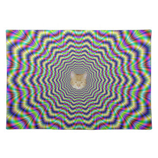 Placemats  Psychedelic Web Star