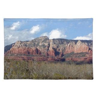 placement featuring photo of Arizona Redrock Cloth Placemat