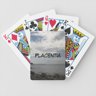 Placentia Canada Night Photograph Bicycle Playing Cards