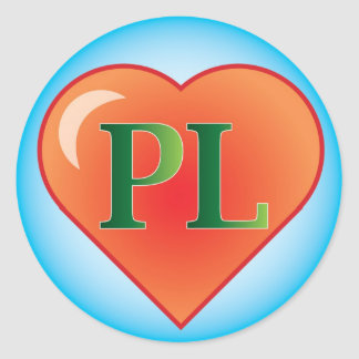 Placentia Library on heart sticker