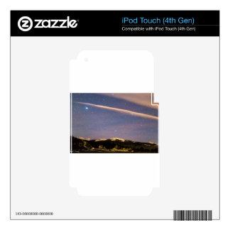 Placer cósmico de la montaña rocosa iPod touch 4G skins