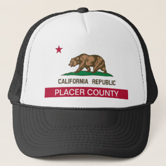 Placer County california Trucker Hat
