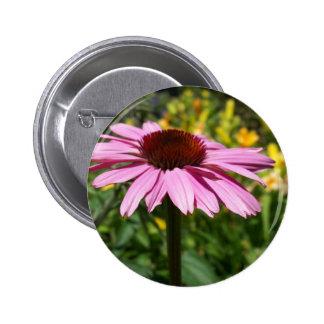Placer de la flor del cono pin redondo 5 cm