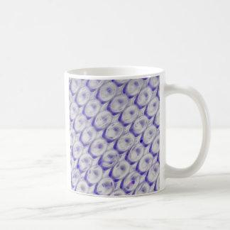 Placer de la vaina taza básica blanca