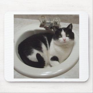Placer de los amantes del gato tapete de ratón