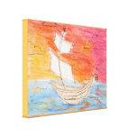 Placer de los marineros impresión de lienzo