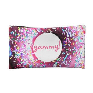 ¡Placer del buñuelo! bolso cosmético delicioso del