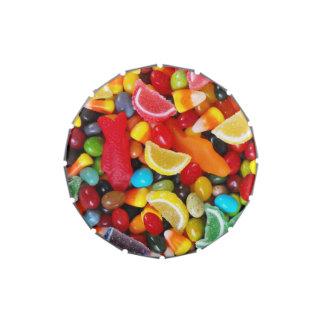 Placer del caramelo latas de dulces