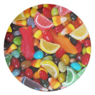 Placer del caramelo platos
