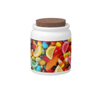 Placer del caramelo platos para caramelos