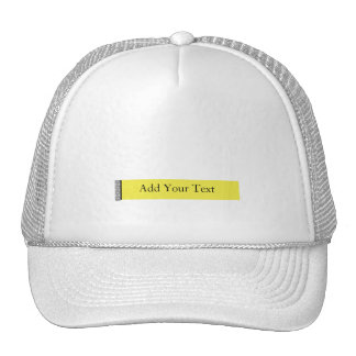 Placer del damasco en amarillo gorras