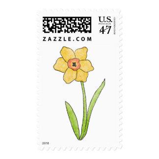 Placer del narciso de Homeberries Timbre Postal