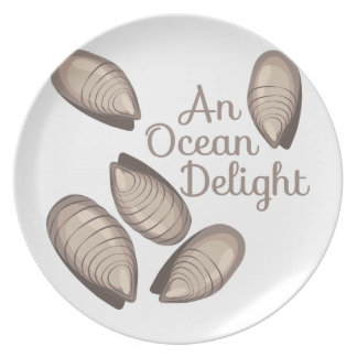 Placer del océano plato de comida