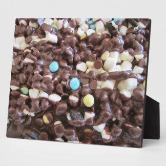 Placer dulce placa de plastico