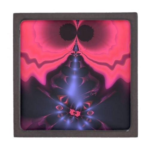 Placer magenta y violeta del Goblin rosado - Caja De Regalo De Calidad