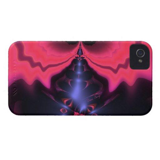 Placer magenta y violeta del Goblin rosado - iPhone 4 Cobertura