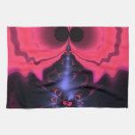 Placer magenta y violeta del Goblin rosado - Toallas