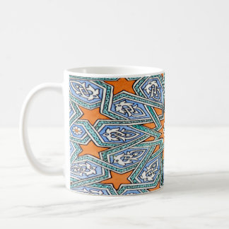 Placer turco de largo tazas de café