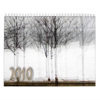 Placer urbano calendario de pared