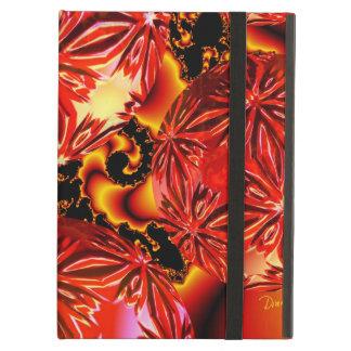 Placeres de la llama, fuego rojo carmesí abstracto