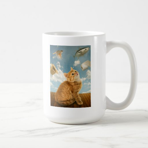Placeres de los gatos taza clásica