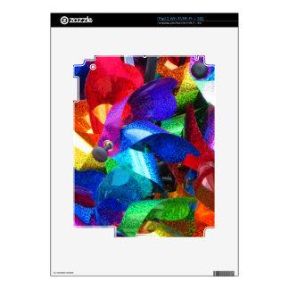 placeres del molinillo de viento calcomanías para iPad 2