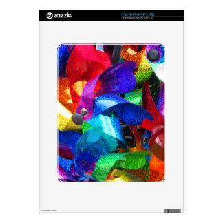 placeres del molinillo de viento skins para iPad