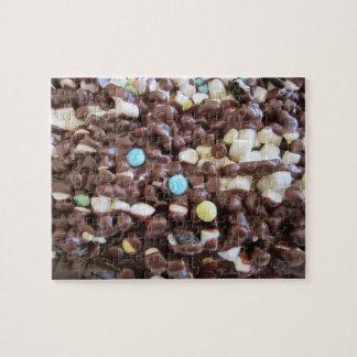 Placeres dulces puzzle con fotos