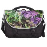 placeres florales bolsas de ordenador