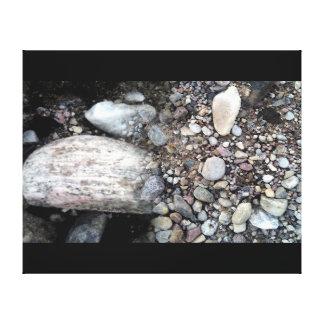 Placeres. Piedras Impresión En Lienzo