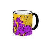 placeres púrpuras tazas