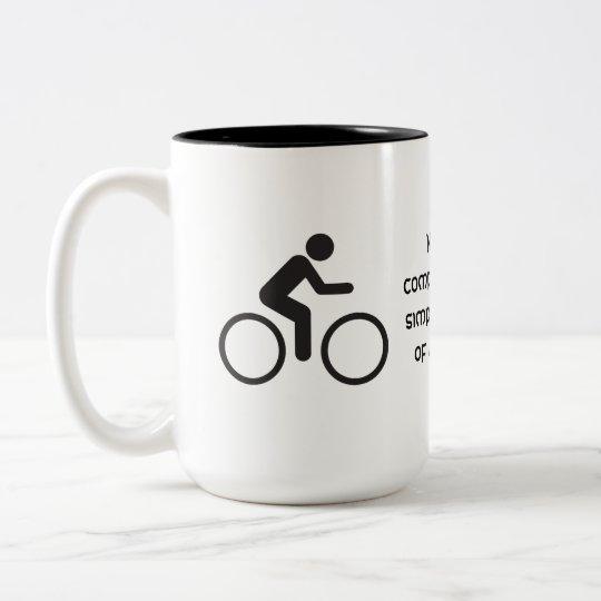 placeres simples taza de café de dos colores
