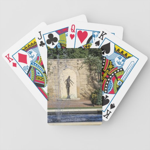 Places Bicycle Playing Cards