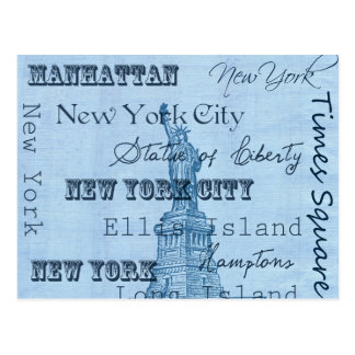 Places New York Postcard
