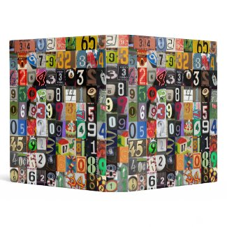 Places of Pi Binder binder