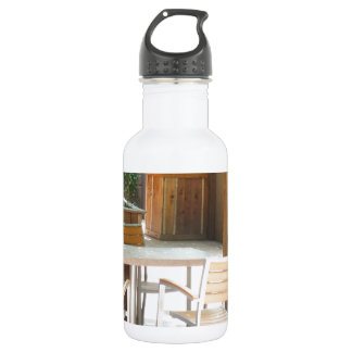places stainless steel water bottle