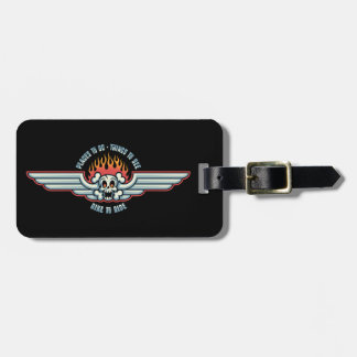 Places To Go Luggage Tag