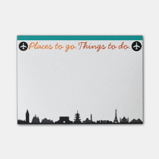 Places To Go, Things To Do Post-it Post-it® Notes
