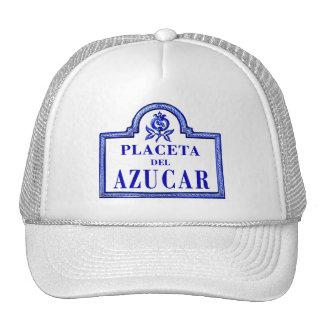 Placeta del Azúcar, Granada Street Sign Trucker Hats