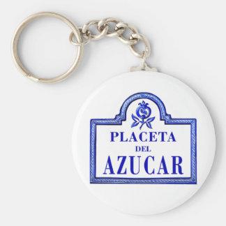 Placeta del Azúcar, Granada Street Sign Key Chains