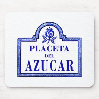 Placeta del Azúcar, Granada Street Sign Mousepad