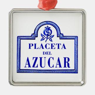 Placeta del Azúcar, Granada Street Sign Ornament