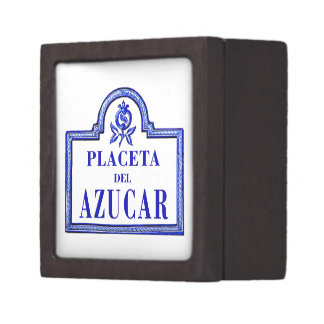 Placeta del Azúcar, Granada Street Sign Premium Gift Boxes