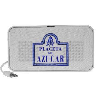 Placeta del Azúcar, Granada Street Sign iPhone Speaker