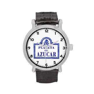 Placeta del Azúcar, Granada Street Sign Wristwatches